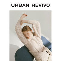 Wool knitwear Spring 2020 S XS L M Khaki Long sleeves nylon 31% (inclusive) - 50% (inclusive) Regular WI07S9BN2000 25-29 years old UR Polyamide fiber (nylon) 46% rabbit hair 29% viscose fiber (viscose fiber) 20% wool 5% Same model in shopping mall (sold online and offline)