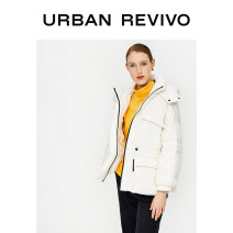 Down Jackets Winter of 2019 UR White duck down 80% WH39R1KN2001 150g (including) - 200g (excluding) 25-29 years old 96% and above polyester fiber Polyester 100% Same model in shopping malls (both online and offline) Benbai S XL L M