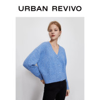 Wool knitwear Spring 2021 S XS L M Long sleeves acrylic fibres 31% (inclusive) - 50% (inclusive) Regular routine 25-29 years old UR Same model in shopping mall (sold online and offline)