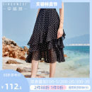 skirt Summer of 2019 S M L XS black Mid length dress Versatile High waist Cake skirt Decor Type A 25-29 years old 919201-308289 More than 95% Chiffon Singhwest / Xin · Ge · Xi polyester fiber Ruffle printing Polyester 100% Pure e-commerce (online only)