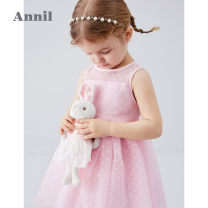 Dress female Annilbaby / annilbaby 80cm 90cm 100cm 110cm 120cm Other 100% summer princess Skirt / vest Solid color other Cake skirt Summer 2020 12 months, 18 months, 2 years old, 3 years old, 4 years old, 5 years old, 6 years old Chinese Mainland Guangdong Province Dongguan City