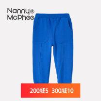 trousers Nanny McPhee / Nanny McPhee neutral 110cm 120cm 130cm 140cm 150cm 160cm Brilliant blue charcoal black spring and autumn trousers Pure cotton (100% content) Don't open the crotch Cotton 100% NM2252 Class A Autumn 2020