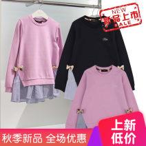 T-shirt Purple spot, dark blue spot Other / other 110cm,120cm female 14, 13, 12, 10, 11, 9, 8, 7, 6, 5, 4, 3
