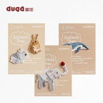 Stickers Duga / Duojia WPJ13601 Owl two panda lion civet cat Flamingo Penguin kangaroo two cat elephant Blue Dolphin zebra two rabbit koala rabbit two squirrel decorate WPJ13601 Wenzhou Youjia daily necessities Co., Ltd