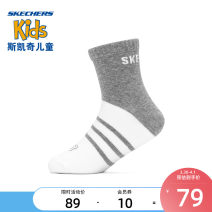 Children's socks (0-16 years old) Socks Light blue / light gray / Black / 012w light pink / yellow / light blue / 00lj M L SKECHERS / SKECHERS spring and autumn neutral Class B Other 100% L121K041 Spring 2021 leisure time