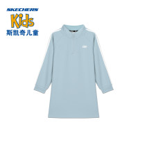 Dress female SKECHERS / SKECHERS 110cm 120cm 130cm 140cm 150cm 160cm Cotton 75% polyester 25% spring and autumn leisure time cotton Straight skirt Class B Spring 2021 Four years old, 12 years old