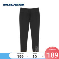 Fitness pants S 155/64A M 160/68A L 165/72A XL 170/76A XXL 175/80A XXXL 180/84A female 0018 / carbon black L320W030 SKECHERS / SKECHERS Yoga equipment fitness ventilation trousers middle-waisted Tight trousers Summer 2020 yes