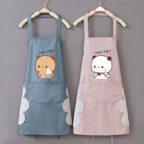 apron Sleeveless apron waterproof Simplicity PVC Household cleaning One size fits all C63227F2066 Love seeking public yes Solid color