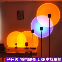 Floor lamp ≤ 36V (inclusive) Countryside Hownice / holex XYT-000-1 Living room dining room kitchen study bedroom With light source 1 iron 10㎡-15㎡ LED Painting and frosting 3 years aluminum 11W (inclusive) - 15W (inclusive) aluminum iron yes