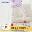 trousers Moomoo female 110/50 110/53 120/56 130/56 140/55 150/58 160/66A Snow white mud dark grey Shadow Black spring and autumn trousers leisure time There are models in the real shooting Leggings Leather belt middle-waisted cotton Cotton 92% polyurethane elastic fiber (spandex) 8% Class B