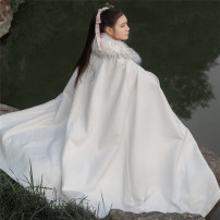 National Costume The scorching sun of Tianhan One size fits all (m length 120cm) White, black Hanfu Polyester 90% viscose 10% polyester fiber