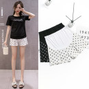 Maternity Pants / belly pants thin Baoduo'er White black M L XL XXL XXXL summer shorts Abdominal support Chiffon Japan and South Korea Whole stage