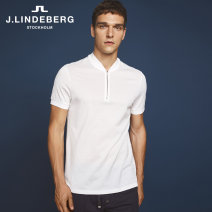 Polo shirt J. Lindeberg / Kim Lindbergh Fashion City routine K2s white 165/88A/XS 170/92A/S 175/96A/M 180/100A/L 185/104A/XL 190/108A/XXL standard Other leisure summer Short sleeve 51733Z502 Cotton 100% Fall 2017 Same model in shopping mall (sold online and offline)