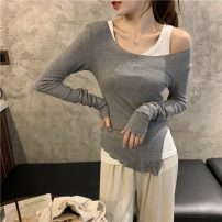 Fashion suit Spring 2021 Average size Grey, green, black 18-25 years old 30% and below