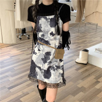 Fashion suit Summer 2021 S. M, l, average size T-shirt, dress 18-25 years old