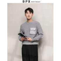 T-shirt / sweater Others Fashion City Khaki, grey, black M,L,XL,2XL routine Socket Crew neck Long sleeves winter Straight cylinder 2019 leisure time Japanese Retro routine Solid color