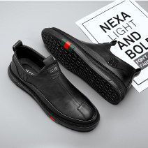 Low top shoes 39 40 41 42 43 44 PU zipper Round head Outdoor leisure shoes cloth leisure time daily Solid color Thick bottom summer rubber waterproof Adhesive shoes Youth (18-40 years old) middle age (40-60 years old) without wearing make-up Low heel (1-3cm) PU Sports & Leisure Summer 2021 Doug shoes