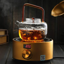 teapot Heat resistant glass other Heat resistant glass yes Self made pictures Thickened glass beam pot 800ml model: tlh800 beam pot electric ceramic stove set model: tlh800 + Q10 Cloud on cloud 701ml (including) - 800ml (including) TLH01