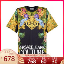 T-shirt Youth fashion routine S M L XL XS XXL Versace / Versace Short sleeve Crew neck standard Other leisure B3GVA7KAVUP600 Cotton 100% youth Summer 2020 International brands Same model in shopping mall (sold online and offline)