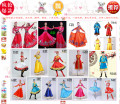 National costume / stage costume Autumn of 2018 A rose red, D white, e yellow, f red, G red, H red, I sky blue, J treasure blue, K sky blue, l rose red, m sky blue, n red, O red, blue and yellow, men's 160 to 185 sizes, P new blue, men's 160 to 185 sizes S. M, l, XL, XXL, XXL, plus XXL Other / other