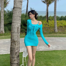 Fashion suit Spring 2021 S,M,L Black, green 18-25 years old QA7202 31% (inclusive) - 50% (inclusive) polyester fiber