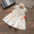 Dress white female Thanksgiving rabbit 80cm 90cm 100cm 110cm 120cm Other 100% summer Korean version Skirt / vest Broken flowers cotton A-line skirt G20BT208 12 months, 9 months, 18 months, 2 years, 3 years, 4 years