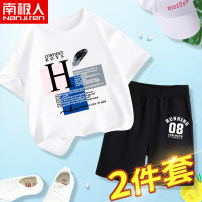 suit NGGGN 110cm 120cm 130cm 140cm 150cm 160cm 165cm male summer motion Short sleeve + pants 2 pieces Thin money There are models in the real shooting Socket nothing Cartoon animation Pure cotton (100% cotton content) NJRXP00203679 Class B Cotton 100% Summer 2021 Chinese Mainland