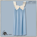 Nightdress Other / other Mjl22101, mjl22102, mjl22103, mjl22104, zj3147, zj3148, zj3149, zj3151, zj3152, zj3153, zj3154, zj3156, zj3160 green, zj3160 blue, zj3146 160(M),165(L),170(XL),175(XXL) Sweet camisole Leisure home Middle-skirt summer Solid color youth Crew neck cotton printing More than 95%