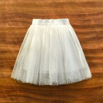 skirt Other / other Polyester 100% 2, 3, 4, 5, 6, 7, 8, 9, 10, 11, 12, 13, 14 years old female Chinese Mainland summer Broken flower fresh skirt A-line skirt polyester Class B Blue, white, apricot, pink