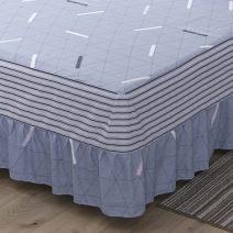 Bedding Set / four piece set / multi piece set cotton Quilting Plants and flowers 128x68 Love life cotton 4 pieces 40 Bed skirt 100% cotton