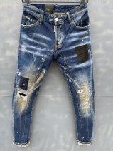 Jeans Youth fashion Others blue Thin money Micro bomb Regular denim T121 trousers Other leisure summer Medium low back Slim feet tide 2021 Button Splicing style cotton