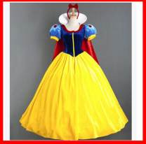 National costume / stage costume Spring of 2018 Affordable snow white without skirt support, high grade snow white, snow white skirt support, affordable Snow White (including skirt support) XL,S,M,XXL,L