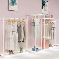 Clothing display rack clothing iron Clothing store display rack white combination 666 Other Official standard