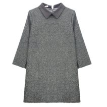 Women's large Winter 2020, autumn 2020 grey S = 1, large L = 3, large XL = 4 singleton  commute Long sleeves Solid color Korean version Crew neck cotton routine 81% (inclusive) - 90% (inclusive) Middle-skirt other
