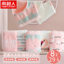 underpants female M L XL XXL NGGGN 5 cotton Briefs middle-waisted Sweet Cartoon animation youth 81% (inclusive) - 95% (inclusive) Cotton fabric Antibacterial Spring 2021 Cotton 95% polyurethane elastic fiber (spandex) 5% Cotton 100% Pure e-commerce (online only)