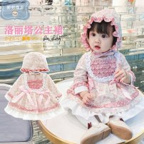 Dress Lolita Dress female Other / other 73cm,80cm,90cm,100cm Polyester 100% spring and autumn princess Petticoat Broken flowers other Cake skirt Class A 2, 3, 4, 5, 6, 7, 8, 9, 10, 11, 12, 13, 14, 3 months, 6 months, 9 months, 12 months, 18 months