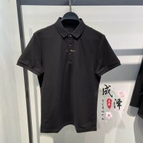 Polo shirt Jiang Taiping and niaoxiang Fashion City routine black S,M,L,XL,2XL easy business affairs summer Short sleeve 2021