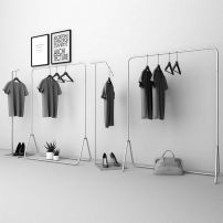 Clothing display rack clothing Metal Official standard