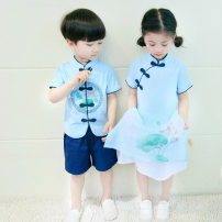 Children's performance clothes Men's and women's neutral 110cm 120cm 130cm 140cm 150cm 160cm Tongxinqiyuan Class B other Cotton 95% polyester 5% nylon 3 years old, 4 years old, 5 years old, 6 years old, 7 years old, 8 years old, 9 years old, 10 years old, 11 years old, 13 years old, 14 years old