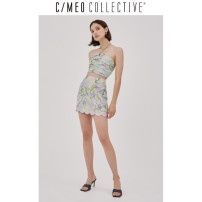 skirt Winter 2020 XXS XS S M L XL Light pink print Short skirt commute High waist skirt Type H 25-29 years old 102004108-3-332 81% (inclusive) - 90% (inclusive) C/meo Collective Viscose printing Simplicity Viscose (viscose) 90% others 10%
