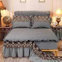 Bed skirt Others Gray, royal blue, jade, coffee, bean paste, red, beige Other / other Others Qualified products PNB6239