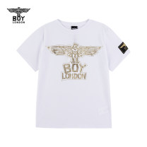 T-shirt White color printing black BOY LONDON 110cm 120cm 130cm 140cm 150cm 160cm neutral cotton animal Cotton 100% J2014KC8002 4 years old, 5 years old, 6 years old, 7 years old, 8 years old, 9 years old, 10 years old, 11 years old, 12 years old, 13 years old, 14 years old