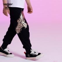trousers BOY LONDON neutral 110cm 120cm 130cm 140cm 150cm 160cm black summer trousers Leggings cotton Viscose fiber (viscose fiber) 57.9% polyamide fiber (nylon fiber) 36.2% polyurethane elastic fiber (spandex fiber) 5.9% J2122KD2086 Summer 2021