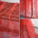 Fabric / fabric / handmade DIY fabric Netting Loose shear rice Solid color printing and dyeing clothing Europe and America