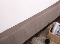 Bed skirt 150cmx200cm,180cmx200cm,93x185x37cm cotton Brown bottom, blue bottom, yellow bottom, brown bottom, green bottom Other / other Others First Grade
