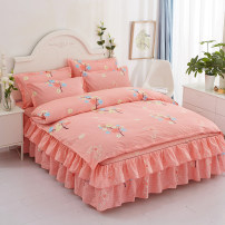 Bed skirt cotton Other / other Geometric pattern Qualified products