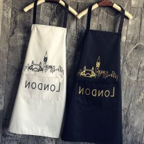 apron Sleeveless apron waterproof Simplicity PVC Household cleaning Average size B89603 other public yes Solid color