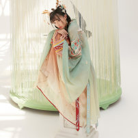 Hanfu 96% and above Spring 2020 Big sleeve shirt in stock XS S M L XL polyester fiber