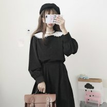 Outdoor casual suit Tagkita / she and others female 51-100 yuan eighty point six eight Average size Elegant black Summer 2020