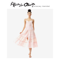 Dress Spring 2021 T661 0 2 4 longuette 25-29 years old Alice&Olivia CC104K01534 More than 95% cotton Cotton 100%